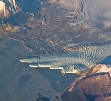 Hubbard Glacier from 30,000 by Bob Moore