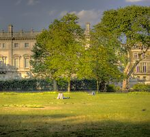 On The Green - Green Park, Westminster, London UK by Mark Richards