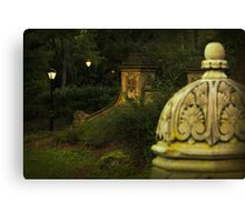 Central Park in the evening Canvas Print