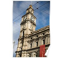 The Old Post Office Building, Bourke Street ,Melbourne Poster