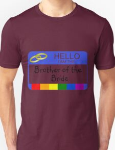 Brother of bride T-Shirt