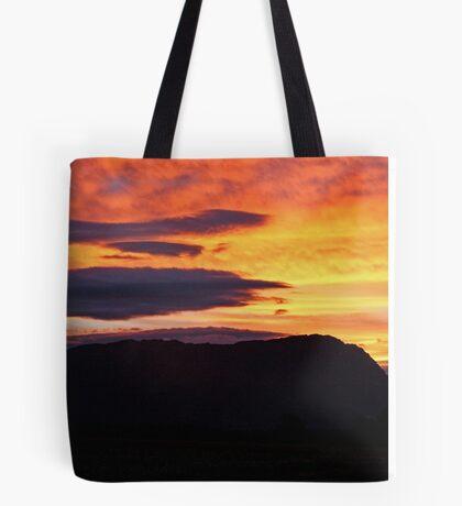 Mt Roland Sunset Tote Bag