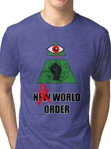 No World Order Tri-blend T-Shirt