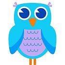 Owl - (brights) by keyweegirlie