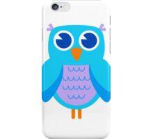 Owl - (brights) iPhone Case/Skin