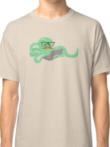 The Mustachioed Internet Octopus Classic T-Shirt