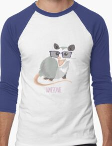 Awesome Possum Men's Baseball ¾ T-Shirt
