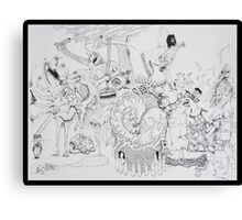 Human History Canvas Print