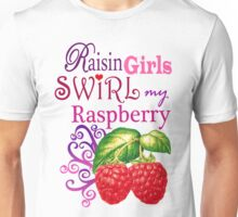 RAISIN RASPBERRY Unisex T-Shirt