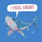Shark Greatness is All About Attitude  by Veronica Guzzardi