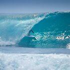 Surfing Uluwatu  by Trevor Murphy