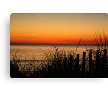 Cape Charles Sunset Canvas Print