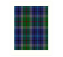 00152 New York City District Tartan  Art Print