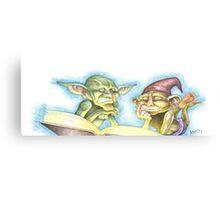 Goblin Book Canvas Print