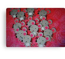 Mice Canvas Print