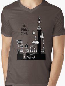 The Natural Order Mens V-Neck T-Shirt