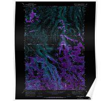 USGS Topo Map Oregon Lefevre Prairie 280498 1969 24000 Inverted Poster