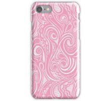 Swirly Pink iPhone Case/Skin