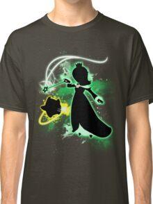 Super Smash Bros. Green Rosalina Silhouette Classic T-Shirt