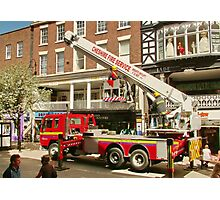 Rescue in Chester Photographic Print
