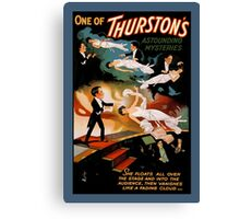Great Magician Thurston Classic Magic Poster1 Canvas Print