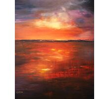 Coorong Sunset - South Australia Photographic Print