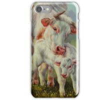 Bonded-Cow And Calf iPhone Case/Skin