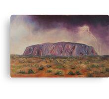 Ayers Rock - Central Australia Canvas Print