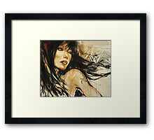 away... Framed Print