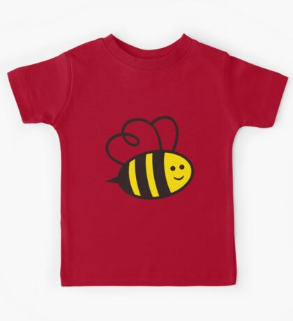 Cute Baby Bee Kids Tee
