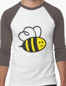 Cute Baby Bee Men's Baseball ¾ T-Shirt