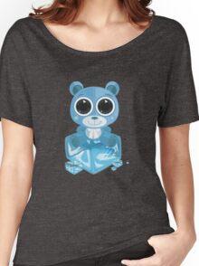 Teddy Bear - Cool Blue Women's Relaxed Fit T-Shirt