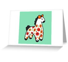 Dymkovo horse Greeting Card