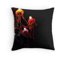 Lights in a lolly shop Throw Pillow