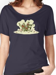Robot Army Women's Relaxed Fit T-Shirt
