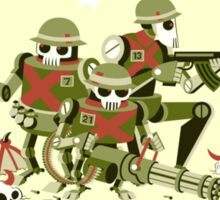 Robot Army Sticker