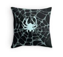 Spider, Spider, in the Dark... Throw Pillow