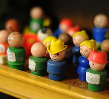 The Little People by bluefishrun