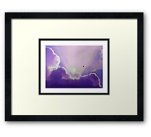 SIGNS OF AN ANGEL BEING BORN...8.4 lbs Framed Print