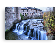 Gayle Beck ~ Hawes, The Dales Canvas Print