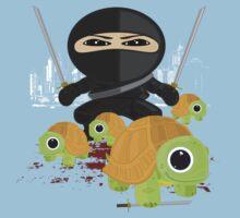 Ninja and Turtles One Piece - Short Sleeve