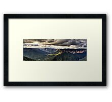 Evans Lookout Blackheath Blue Mountains Australia Framed Print