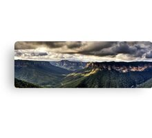 Evans Lookout Blackheath Blue Mountains Australia Canvas Print