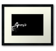 Empty Space (Belden Bullock) Framed Print