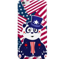 Patriotic Panda - Flags iPhone Case/Skin
