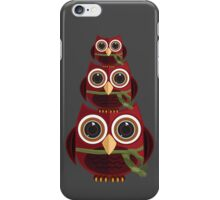 The Red Owl - Totem iPhone Case/Skin