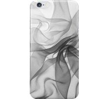 Black Chiffon iPhone Case/Skin