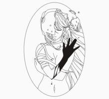 Elfen Lied - Black One Piece - Short Sleeve