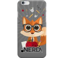 Fox Nerd - Nerd iPhone Case/Skin