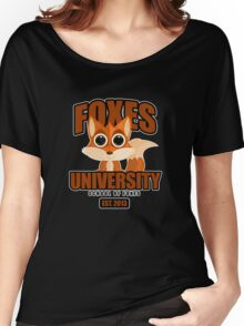 Foxes University  2 Women's Relaxed Fit T-Shirt